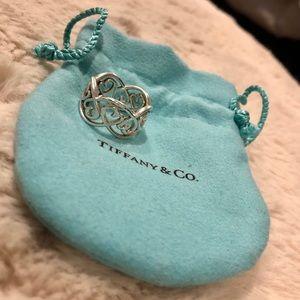 Tiffany & Co Paloma Loving Heart Swirl Ring